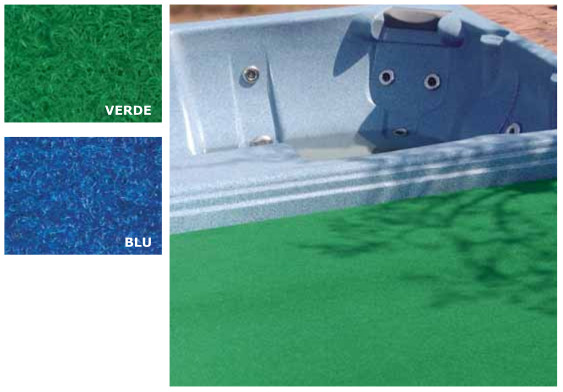 Erba sintetica prato - colori disponibili