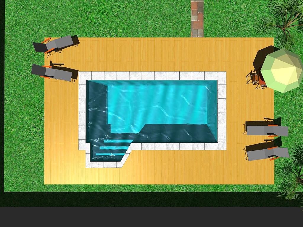 Forma piscina Beachtime