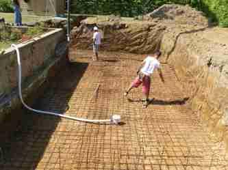 Costruire una platea in cemento armato confortevole for Come pianificare la costruzione di una casa