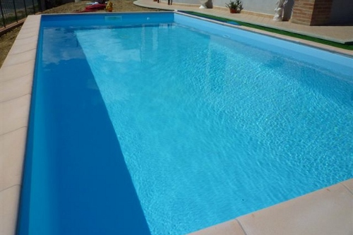 piscina interrata, dimensioni 7×3,5 m