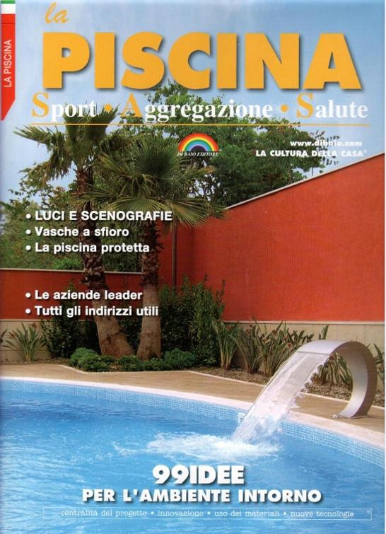 copertina rivista Piscine