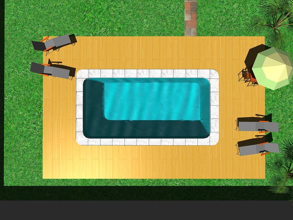 Forma piscina Montecarlo