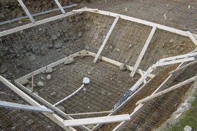 costruzione basamento con fossa tuffi