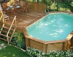 piscina fuori terra in legno